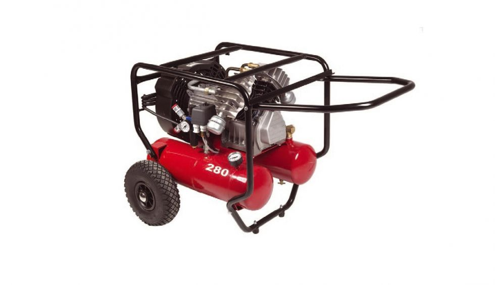 Kompressor 2 x 120 liter