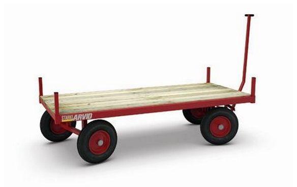 Plate- og transportvogn – 1000 kg