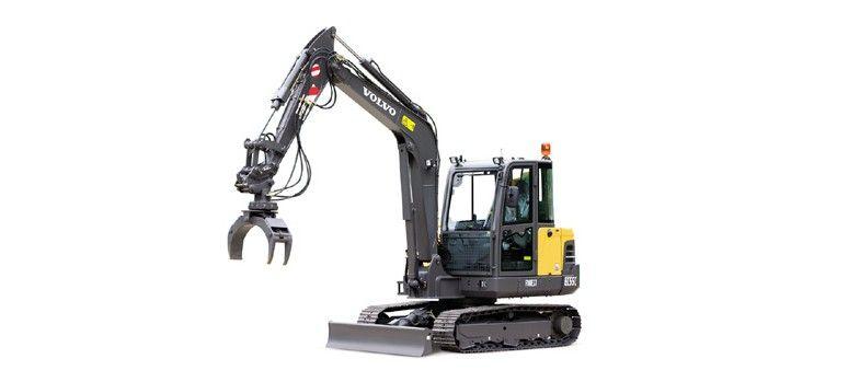 5,8 tonner – Minigraver – Lang hekk