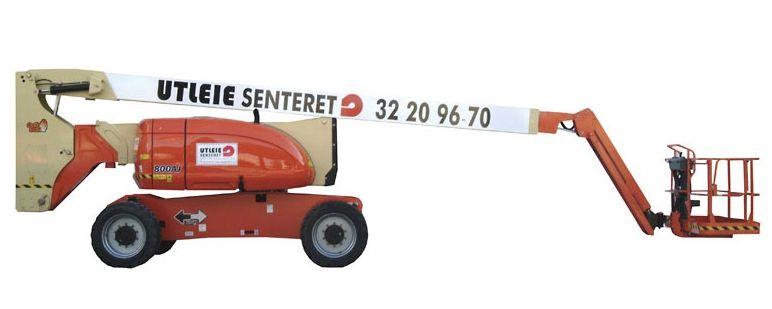 26m Bomlift – Knekkarm